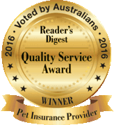 Reader Digest Quality Award 2016