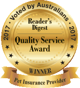 Reader Digest Quality Award 2017