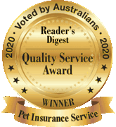Reader Digest Quality Award 2020