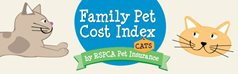 Family pet cost index – Cat Infographic
